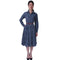 Marina Tuareg Dress Indigo Blue Diamond