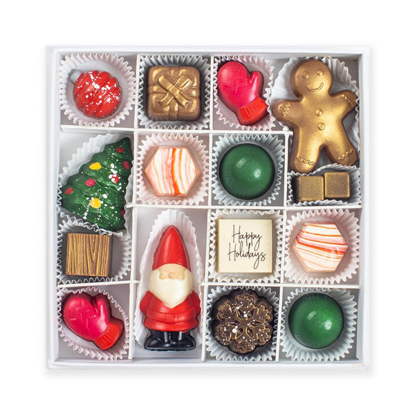 Naughty or Nice Chocolates (Box of 16)