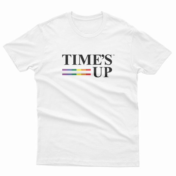 Time's Up Pride Tee - Organic Cotton