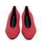 No. 3  Pastel Red Ballerina Flat