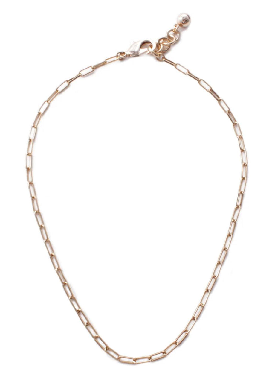 Plaza Rectangle Link Necklace
