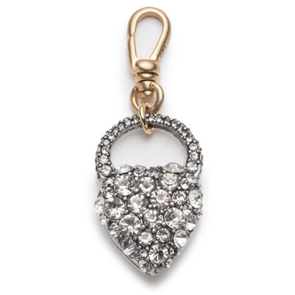 NINA CRYSTAL HEART WITH FOB CLIP