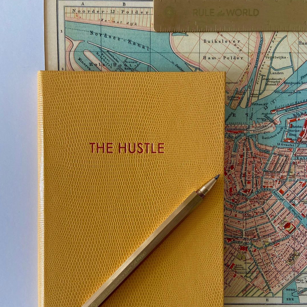 The Hustle A5 Notebook