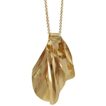Concha Necklace - Yellow Gold