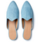 Pair of Le Monde Beryl Light Denim Venetian Mule