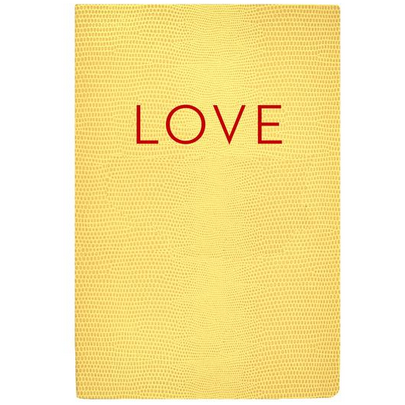 LOVE Softcover Notebook