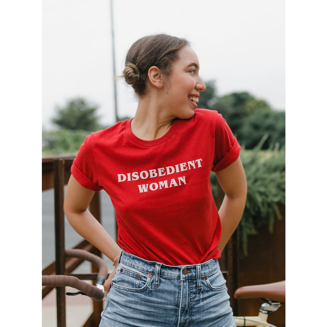 Disobedient Woman T-shirt