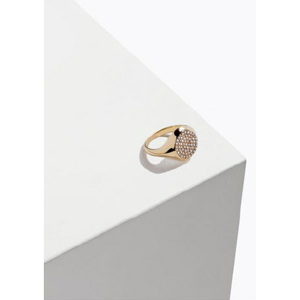 Pinky Signet Ring yellow Gold