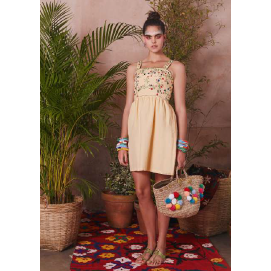 MARIGOLD DRESS YELLOW