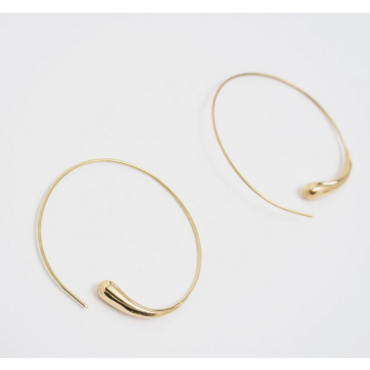 Dash Hoops - Brass