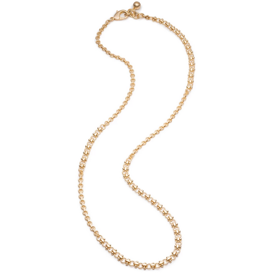 Plaza Mixed Long Chain Necklace