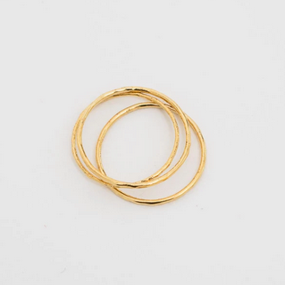 Trinity Knuckle Rings - 14K Gold
