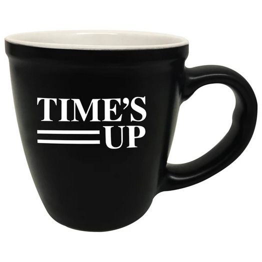 Time's Up Coffee Mug 15oz.
