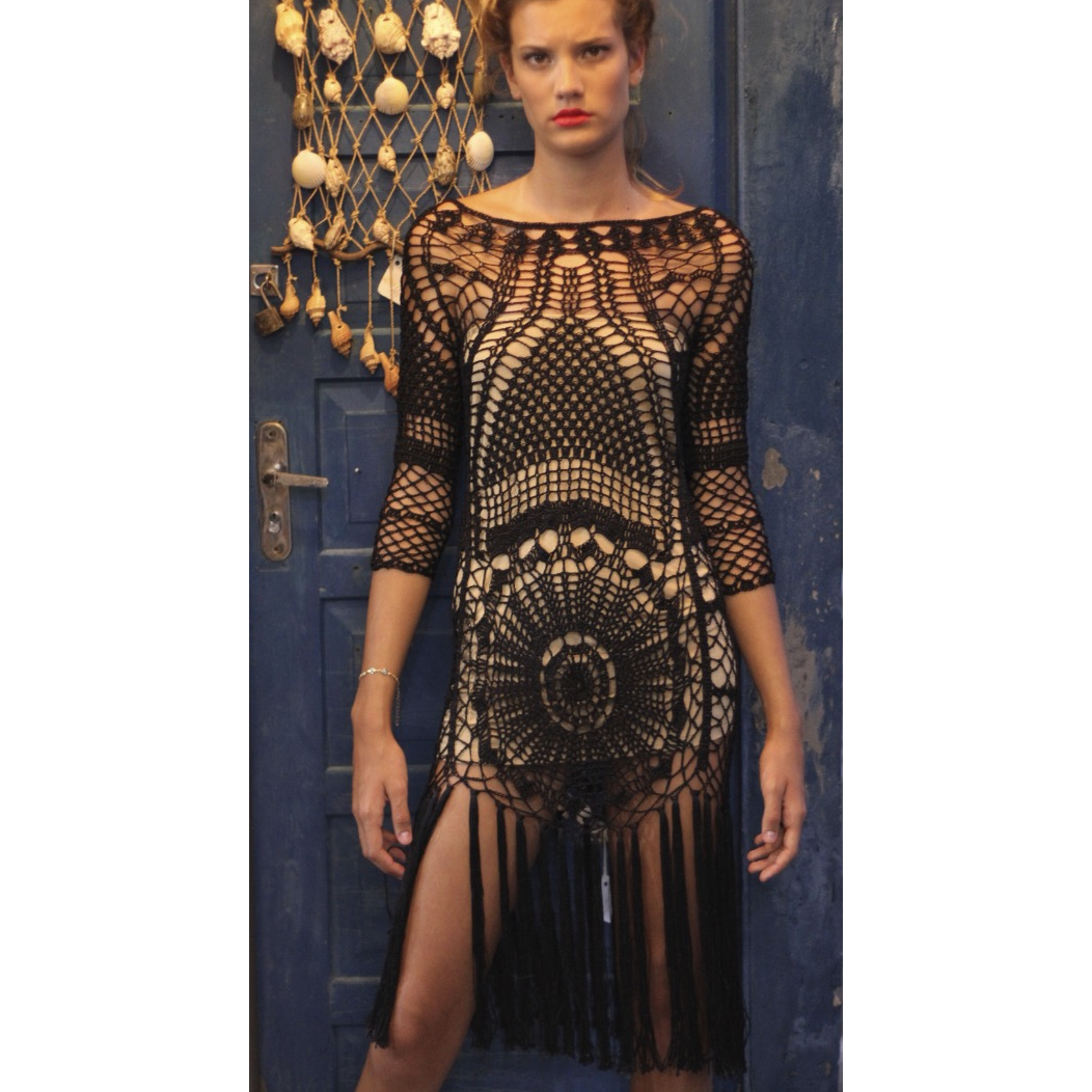 Ignacio Dress - Black