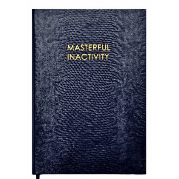 Masterful Inactivity A5 Notebook