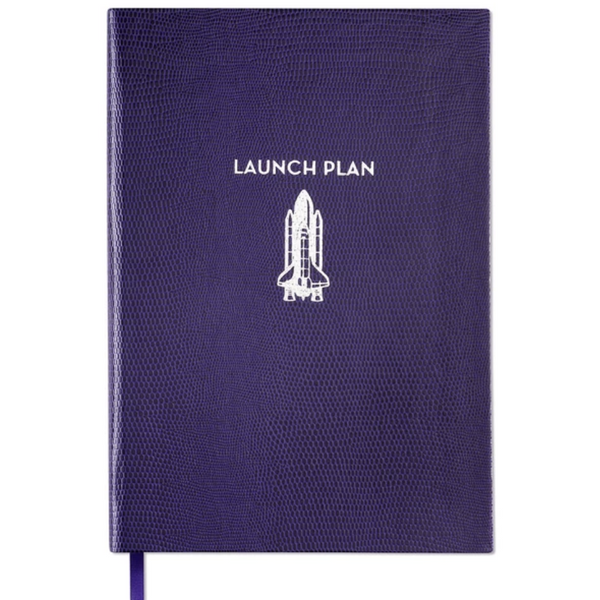 Launch Plan A5 Notebook