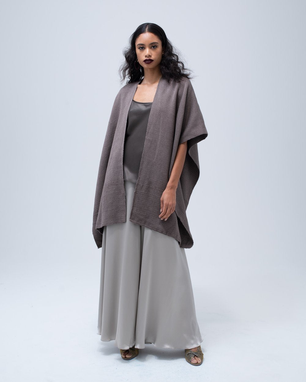Short Duster Cotton - Truffle