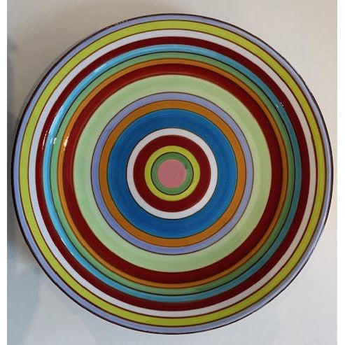 "Dinner Plate 10.5"" - Striped"