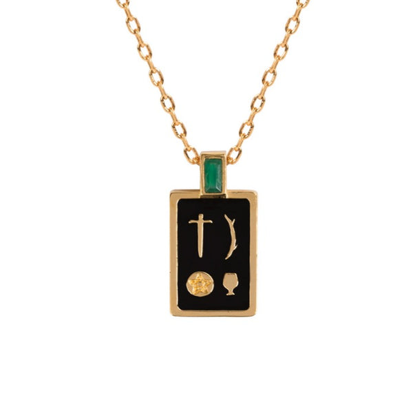 Tarot Necklace - The Magician