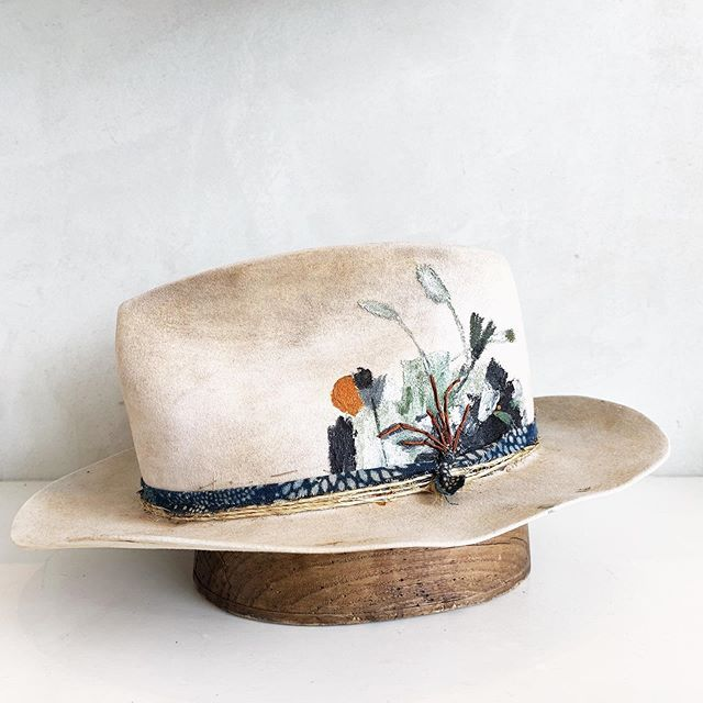 Potted Paintbrush Hat