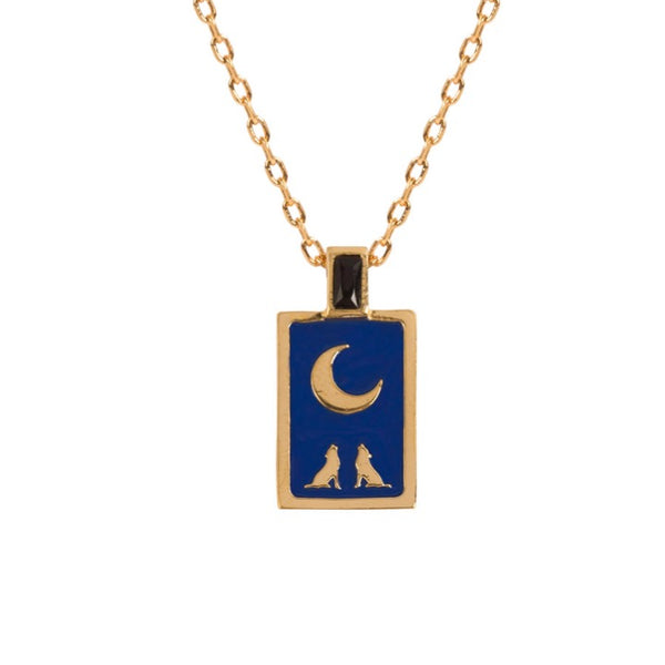 Tarot Necklace - The Moon