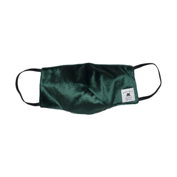 Velvet Face Mask Green