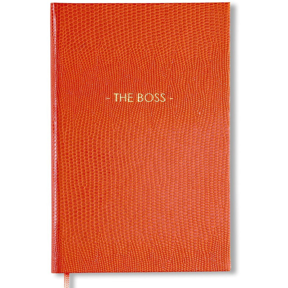 THE BOSS Pocket Notebook Orange