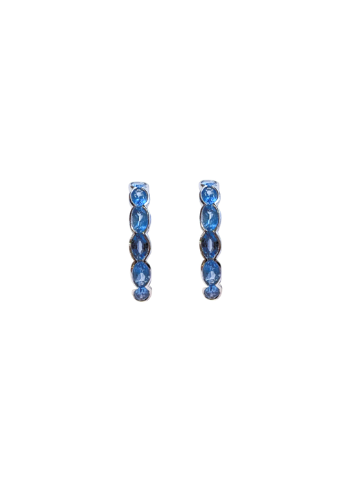 Infinite Blue Wave Earrings
