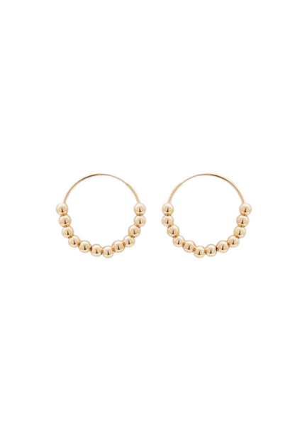 Lana Hoop Earrings 24mm
