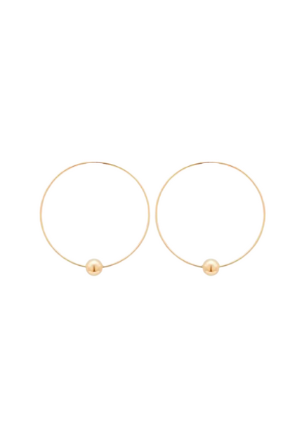 Mafe Hoop Earrings 50mm