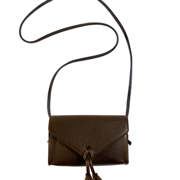In Love Mini Bag - Brown Tuscan Nappa