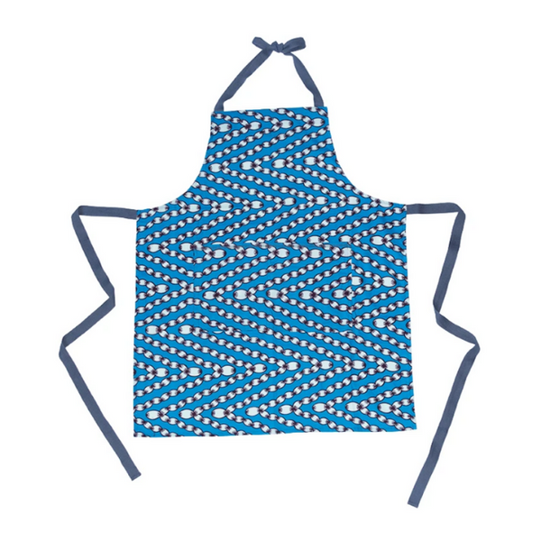 Johnny Apron in Cerulean Blue Ropes