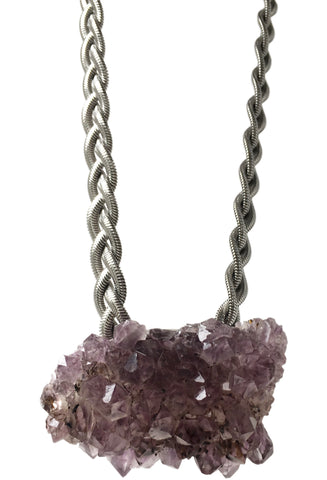 Luci Amethyst Necklace