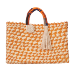 Orange Melle Tote
