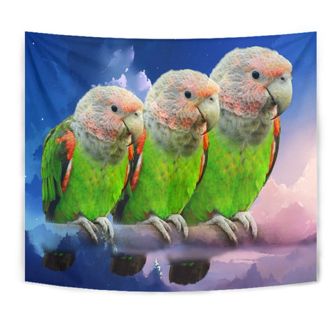 Picephalus Parrot Print Tapestry-Free Shipping