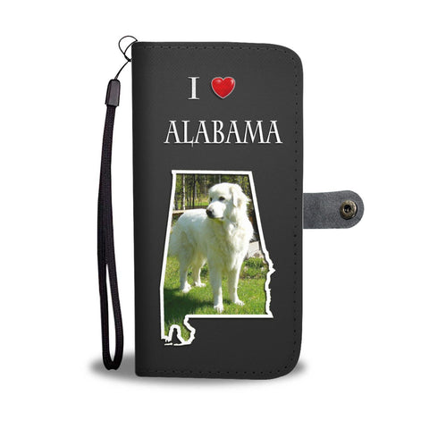 Great Pyrenees Print Wallet Case-Free Shipping-AL State