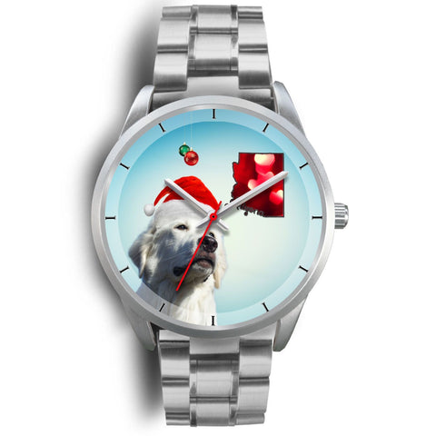 Great Pyrenees Arizona Christmas Special Wrist Watch-Free Shipping