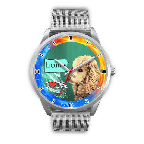Lovely Poodle Dog Pennsylvania Christmas Special Wrist Watch-Free Shipping