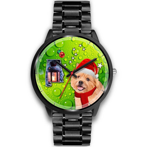 Norwich Terrier Alabama Christmas Special Wrist Watch-Free Shipping