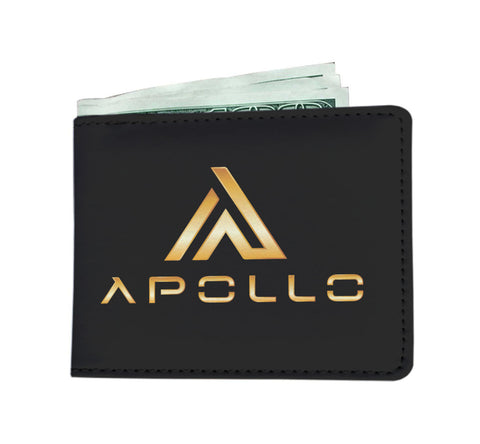 Custom Apollo Wallet Premium Gold Logo