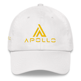 Dad Hat Unstructured w/Gold Logo