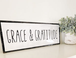 Grace & Gratitude Metal Wall Décor