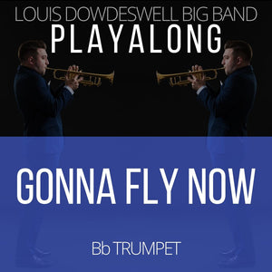 GONNA FLY NOW - Solo Trumpet PlayAlong