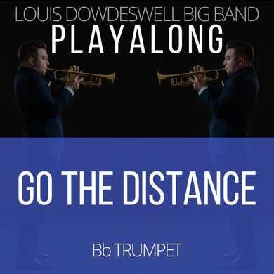 GO THE DISTANCE - Solo Trumpet PlayAlong