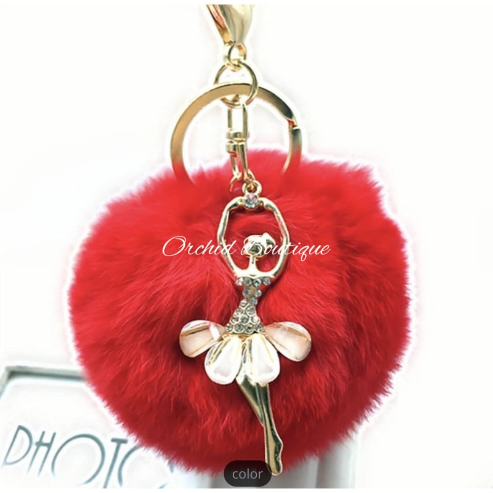 Ballerina Key Chain - Orchid Boutique
