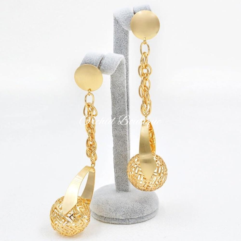 Bella Bold Earrings - Orchid Boutique