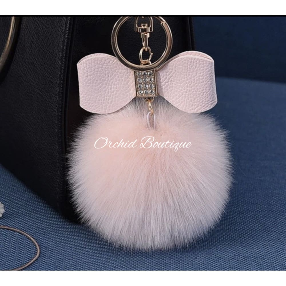 Bow Key Chain - Orchid Boutique