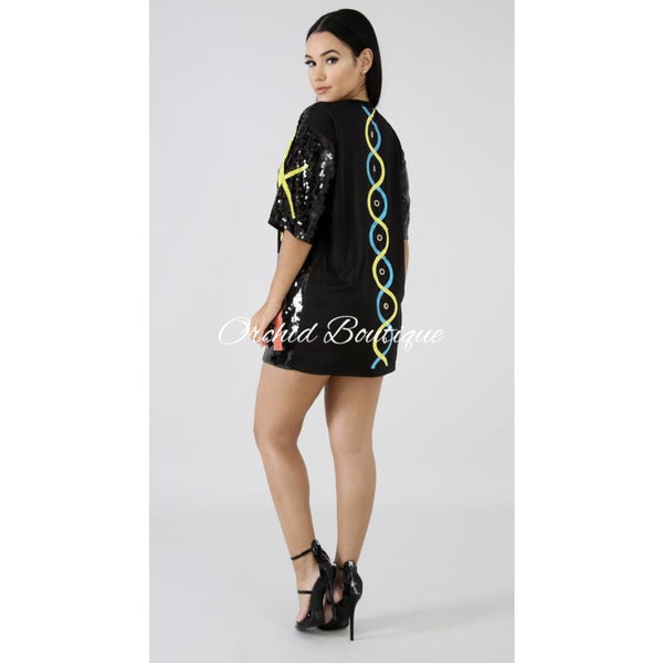 Epic Nights Sequin Mini Dress - Orchid Boutique