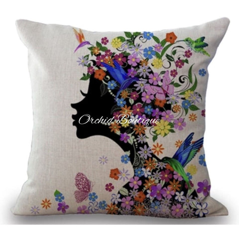 Heiress Throw Pillow Cover - Orchid Boutique