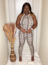 Load image into Gallery viewer, Jody Snake Print Jumpsuit